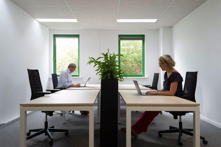 Rivium Business Park flex werkplek
