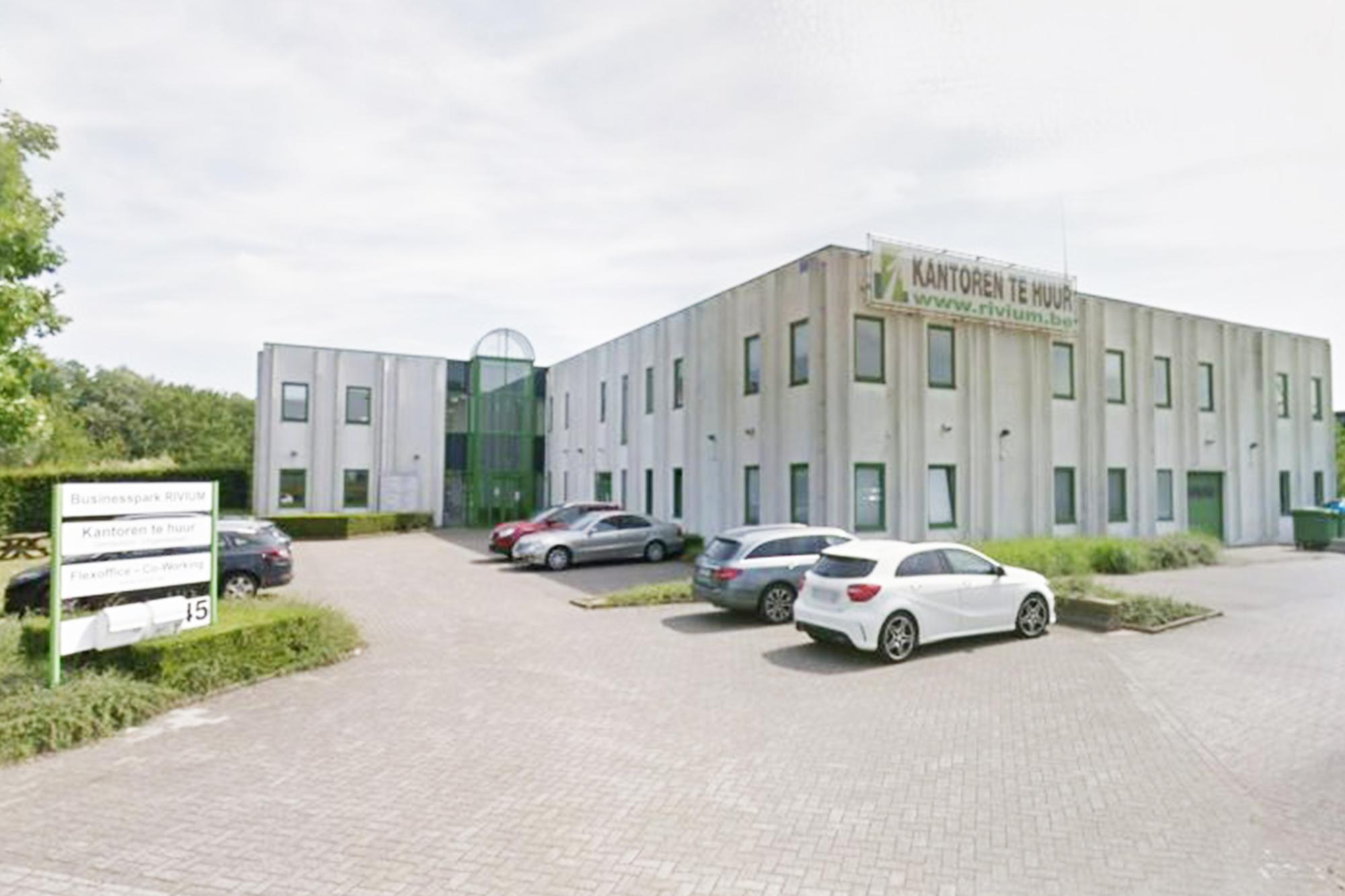 Een kantoor in Antwerpen of Brussel